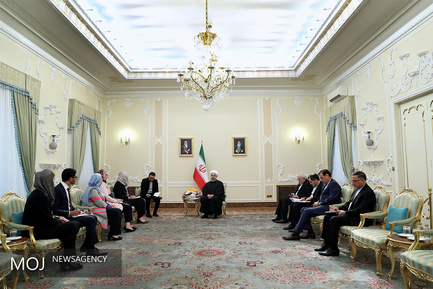 دیدار وزیرای خارجه هلند با رییس جمهوری