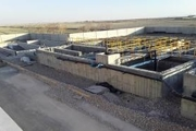 پیشرفت ۹۵ درصدی تصفیه خانه فاضلاب در شهرستان اژیه