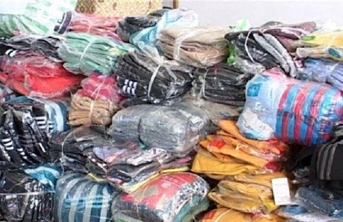پوشاک خارجی قاچاق در یزد کشف شد