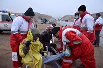 72 ساعت پر حادثه با بیش از  1400 ماموریت امداد رسانی کشوری داشتیم