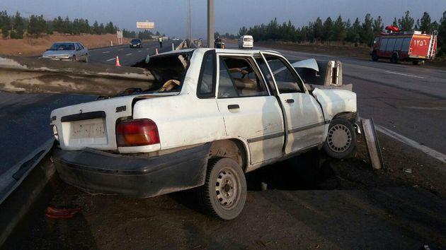 سانحه رانندگی در آزاد راه شهید شوشتری مشهد یک مصدوم بر جا گذاشت
