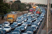 تردد در جاده های زنجان به دو میلیون خودرو رسید