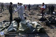 پیکر ۵۷ تن از جانباختگان حادثه هواپیما تحویل خانواده ها شد