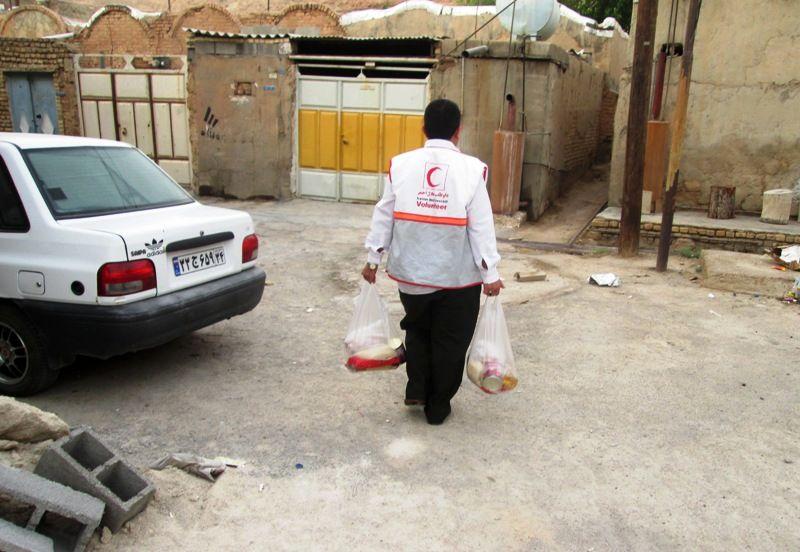 بهره مندی ۴۲ هزار نیازمند از سبدهای غذایی حمایتی هلال احمر خوزستان