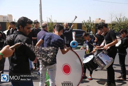 عزاداری تاسوعای حسینی (ع) در محله خلیج فارس