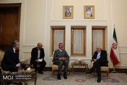 دیدار رییس کمیسیون سیاست خارجی مجلس برزیل با محمدجواد ظریف وزیر امور خارجه