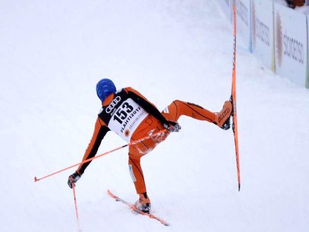 حضور اسکیباز برف ندیده در مسابقات قهرمانی جهان