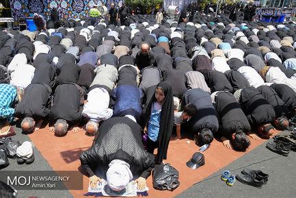 اجتماع بزرگ صادقیون در میدان صادقیه