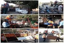 آغاز طرح جمعآوری و رفع سد معبر شهر در اردستان