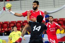 تیم ملی هندبال ایران مقابل عربستان شکست خورد
