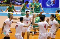 جام کنفدراسیون والیبال آسیا در دو سطح برگزار میشود