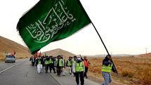 زائران پیاده در راه زیارت امام هشتم (ع)