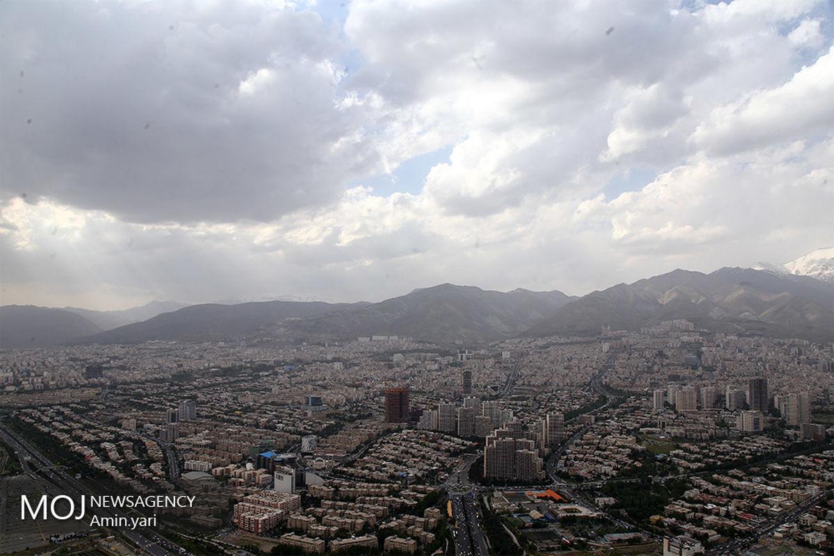 کیفیت هوای تهران ۱۵ اردیبهشت ۱۴۰۰/شاخص کیفیت هوا به ۷۸ رسید