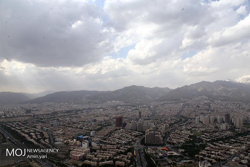 کیفیت هوای تهران ۲۷ اردیبهشت ۹۹/ شاخص کیفیت هوا به ۹۲ رسید