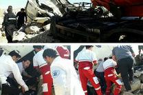 3 کشته و مجروح در تصادف محور پلدختر - اندیمشک