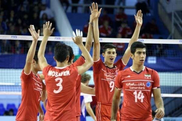 ساعت بازی والیبال جوانان ایران و کره جنوبی مشخص شد