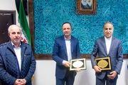 تفاهم نامه همکاری منطقه آزاد انزلی و سازمان فضایی ایران منعقد شد
