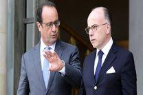 حمایت فرانسوا اولاند از وزیر کشور فرانسه در مقابله با تروریسم