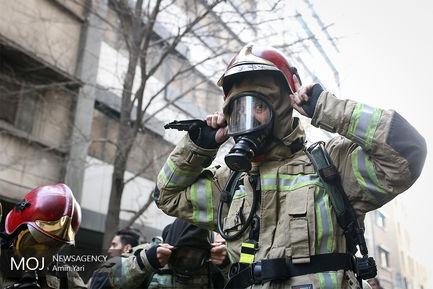 پایان مبارزه آتش نشانان با آتش حرارتی