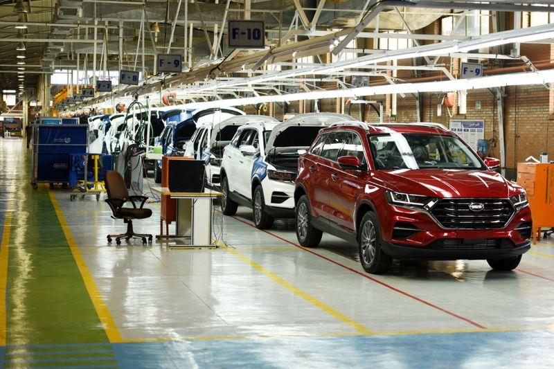 تولید خودرو SWM در سیف خودرو