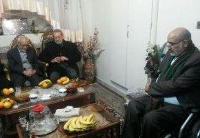 دیدار دکتر لاریجانی با خانواده شهید سید محمدرضا فیض در قم