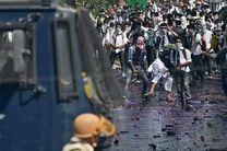 درگیری میان مردم کشمیر و پلیس هند دوباره سر گرفت/ 18 کشته و زخمی