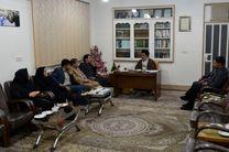 مدیرعامل و اعضای هیات مدیره خانه مطبوعات و خبرگزاریهای لرستان با آیت الله میرعمادی دیدار کردند