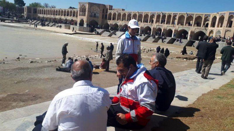 ارائه خدمات به بیش از 81 هزار مسافر و گردشگر در اصفهان
