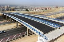 تقاطعهای بزرگراه شهید خرازی آماده بهرهبرداری است