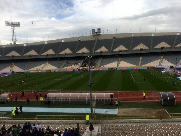استقبال ۲۰۰۰ تماشاگر از بازی ایران برابر سیرالئون