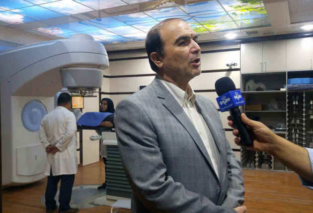 روزانه 70 بیمار در مرکز رادیوتراپی باران خرمآباد پذیرش میشود