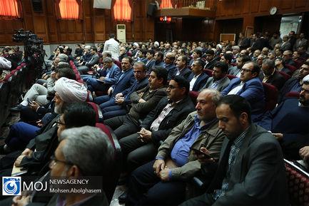 تکریم و معارفه رییس کل جدید محاکم تهران