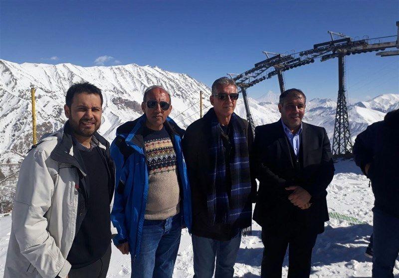 گزارش سی ان ان کی روش را به پیست اسکی کشاند
