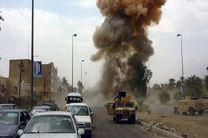 انفجار در مسیر کاروان آمریکا در عراق