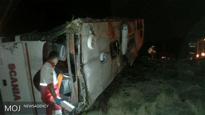 اسامی ۱۵ تن از قربانیان حادثه سقوط اتوبوس مسافربری به دره