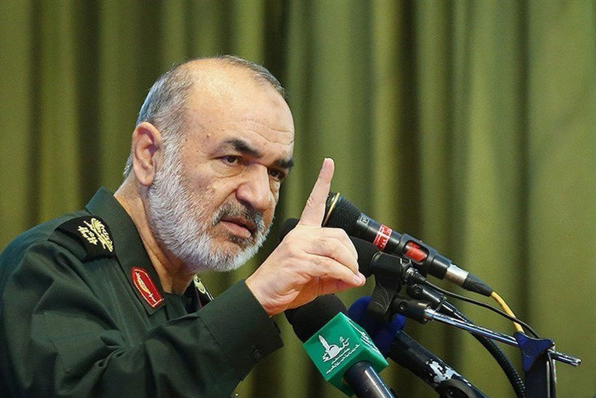 سردار سلامی اقدامات  سپاه در مقابله با ویروس کرونا را تشریح می کند