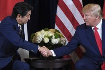 رایزنی رئیس جمهور آمریکا و نخست وزیر ژاپن در مورد کره شمالی