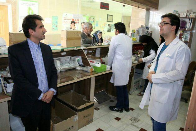 بازدید رئیس دانشگاه علوم پزشکی قم از مراکز بهداشتی درمانی روستایی