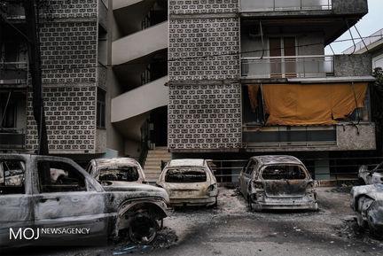 آتش سوزی های جنگلی در یونان