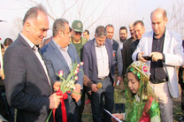 افتتاح و کلنگ زنی یازده طرح عمرانی در شهرستان مرزی بندر آستارا