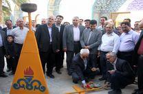 با افتتاح بزرگترین طرح CNG کشور مشعل گاز در خور روشن شد