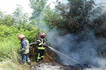 هشدار سازمان آتش نشانی نسبت به ایمنی در برابر وزش باد گرم در گیلان