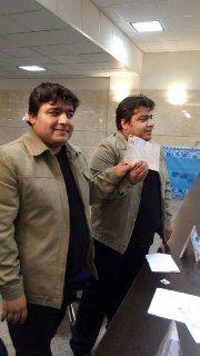 ثبت نام دوقلوها در انتخابات ریاست جمهوری