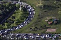 وضعیت ترافیکی بزرگراههای تهران در 23 اردیبهشت
