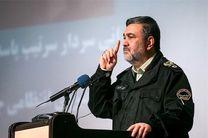 مراسم معارفه سردار آزادی فرمانده جدید نیروی انتظامی استان کردستان برگزار خواهد شد