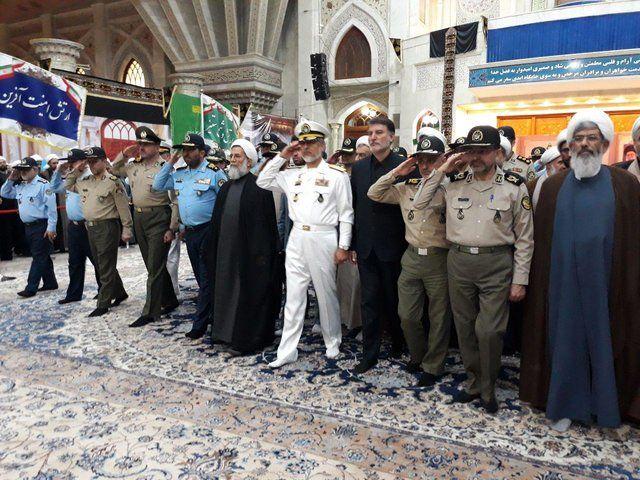 تجدید میثاق رئیس و مسئولان سازمان عقیدتی سیاسی ارتش با آرمانهای امام راحل