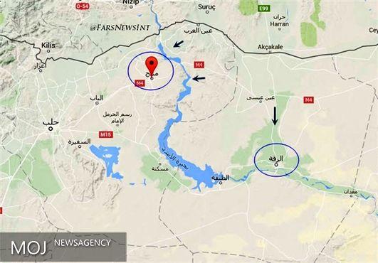 «منبج» از کنترل تروریست های داعش خارج شد + عکس