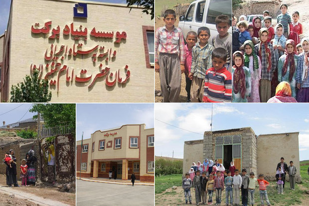 رئیس دفتر مقام معظم رهبری 7 مدرسه بنیاد برکت در لرستان را افتتاح کرد