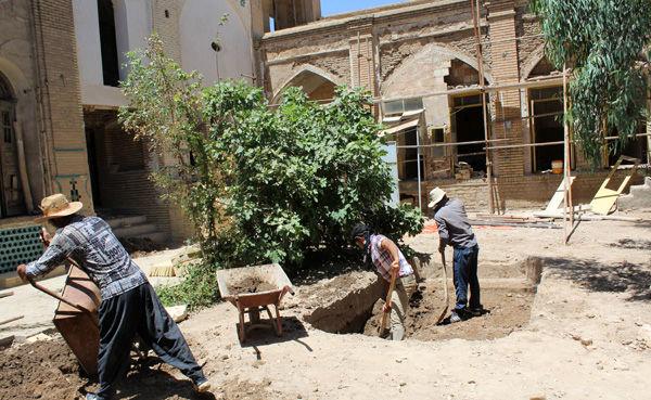 مرمت خانه تاریخی شاکری قم آغاز شد
