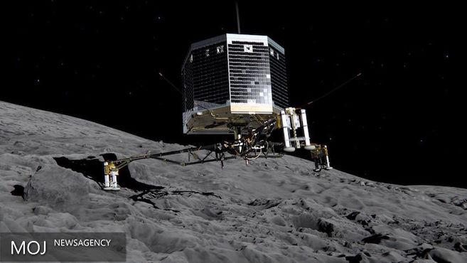 نخستین فرودگر بشری روی یک دنبالهدار خاموش شد